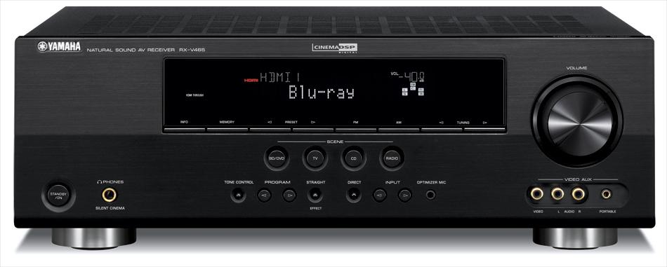 Yamaha Rx V465 5 1 Home Theater Receiver Preview Audioholics