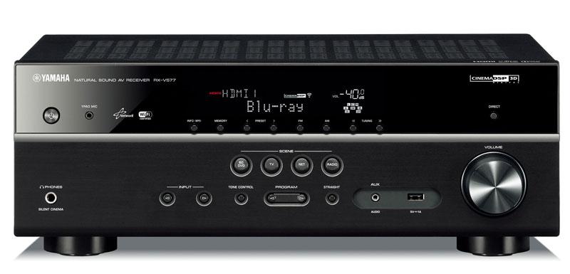yamaha rx v577 networking av receiver review audioholics