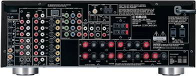 Yamaha Rx V659 System Setup Amp Configuration Audioholics