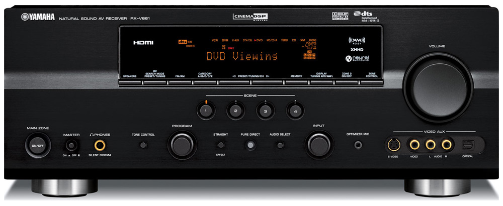 Yamaha Receiver Audio Out