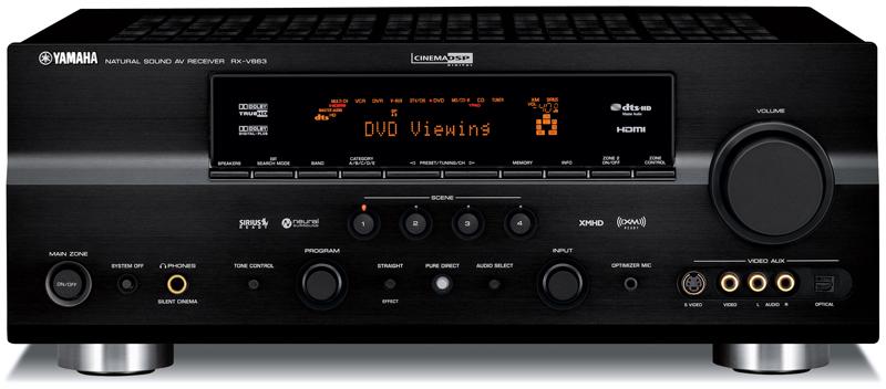 yamaha rx v663 a v receiver preview audioholics rh audioholics com Yamaha RV 663 Manual Yamaha RV 663 Manual