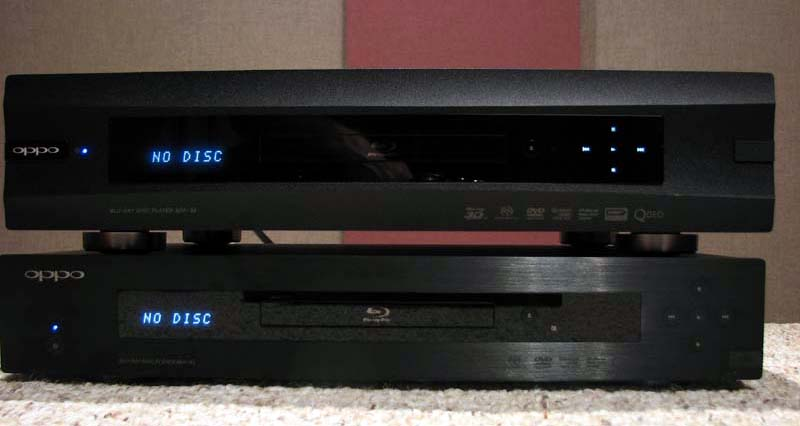 Oppo Bdp 93 Amp Bdp 95 Universal Blu Ray Player Measurements