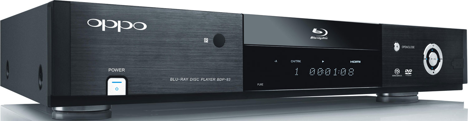 oppo bdp 83 universal blu ray player update full screen image audioholics. Black Bedroom Furniture Sets. Home Design Ideas