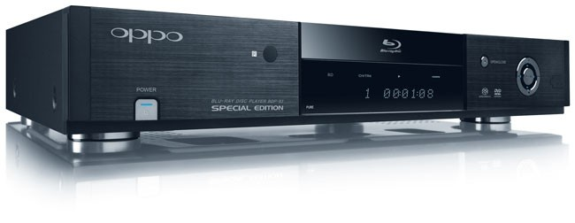 OPPO BDP-83SE Special Edition Blu-ray Disc Player First Look