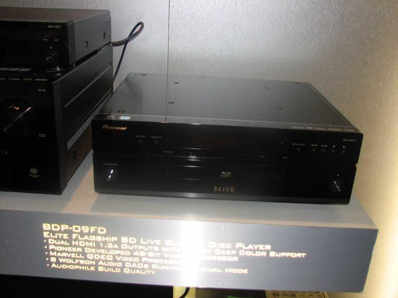 Pioneer Elite BDP-09FD Blu-ray Player First Look | Audioholics