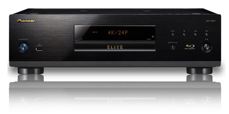 pioneer elite bdp 85fd and bdp 88fd blu ray player preview. Black Bedroom Furniture Sets. Home Design Ideas