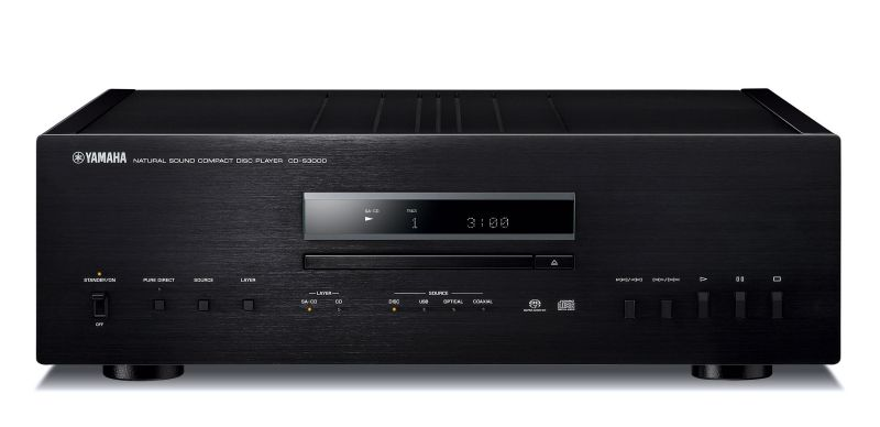 Yamaha CD-S3000 CD/SACD Player Preview | Audioholics