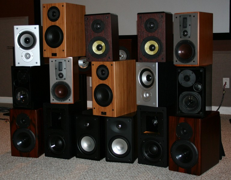 Bookshelf Speaker Faceoff 2007 Audioholics