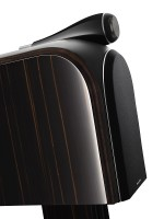 The PM 1 Bookshelf Speaker Sports BWs New Carbon Braced Tweeter This Iconically Mounted On Top Of Doesnt Break Up At 20kHz
