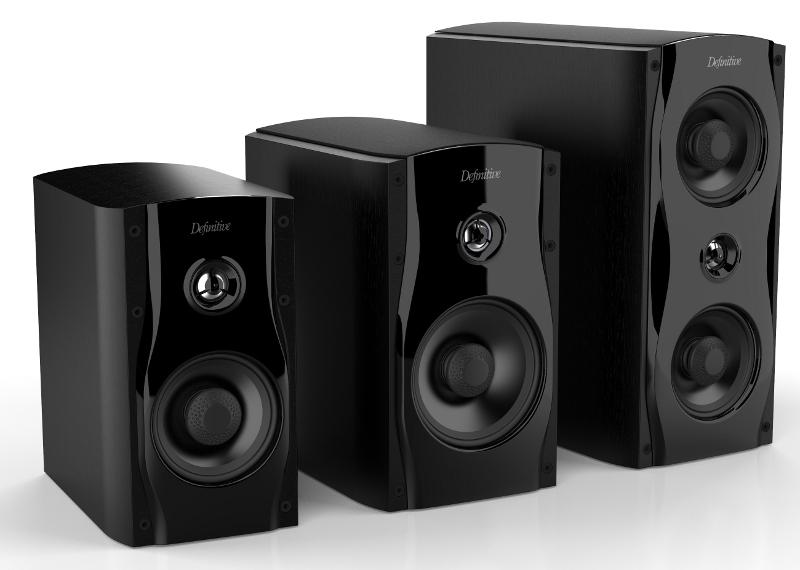 Definitive Technology StudioMonitor Series Bookshelf Speakers