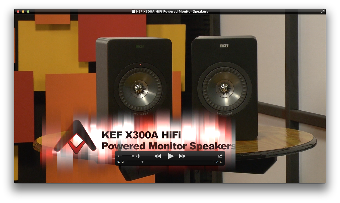 KEF X300A Powered Speakers Review | Audioholics