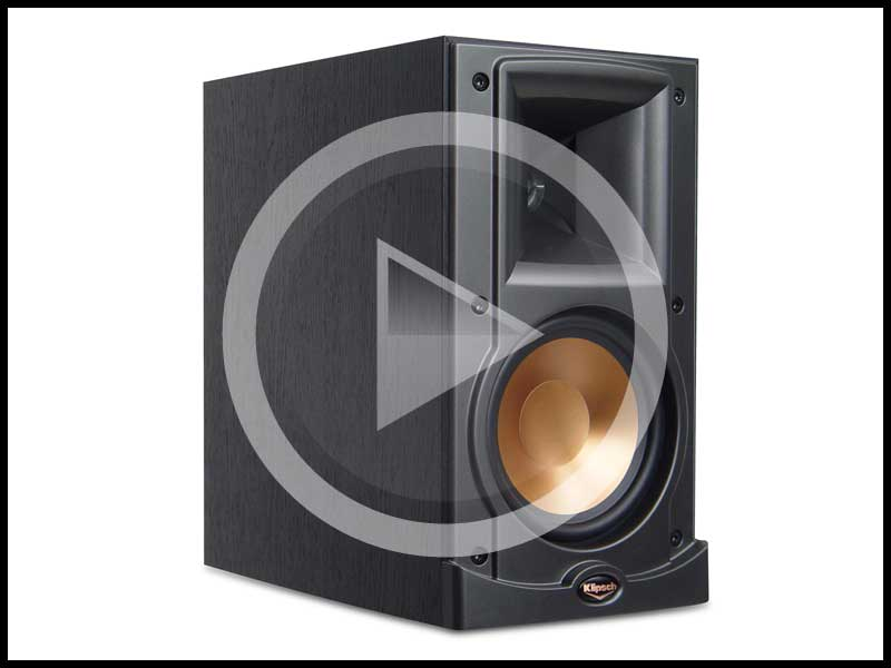 rp speakers klipsch speaker wal with system center bookshelf walnut tower r subwoofer