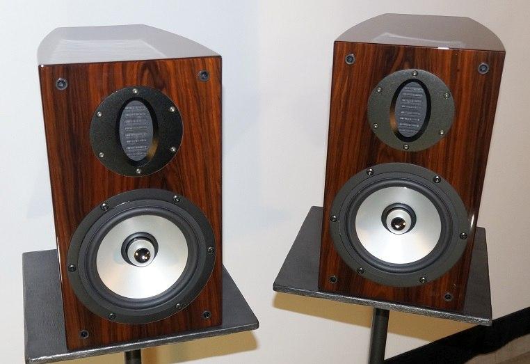 RBH SV 61R Bookshelf Speaker Angle