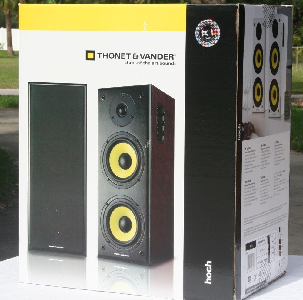 Thonet Amp Vander Hoch Powered Bookshelf Speaker Review