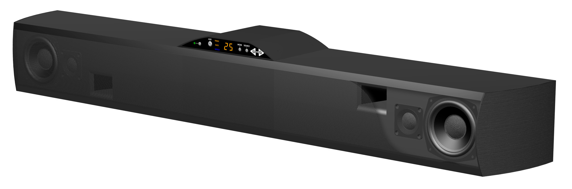atlantic technology h pas powerbar 235 soundbar preview