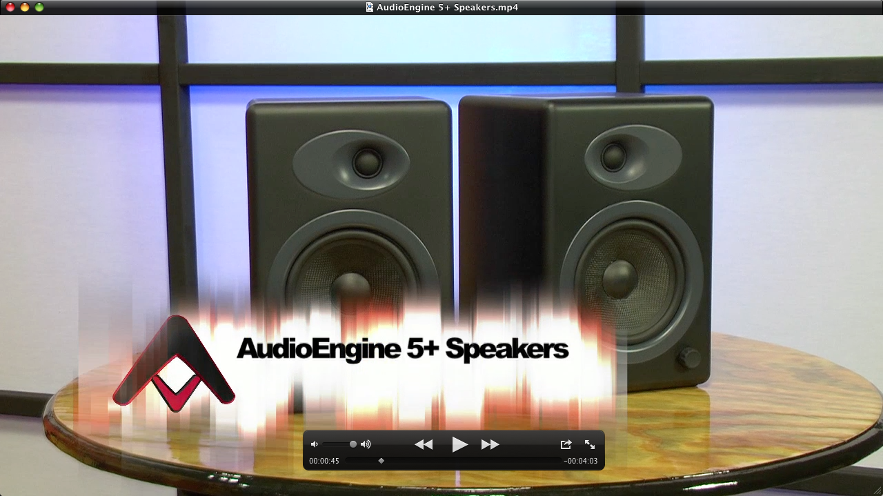 Home Theater Subwoofer >> AudioEngine A5+ Speakers Review | Audioholics