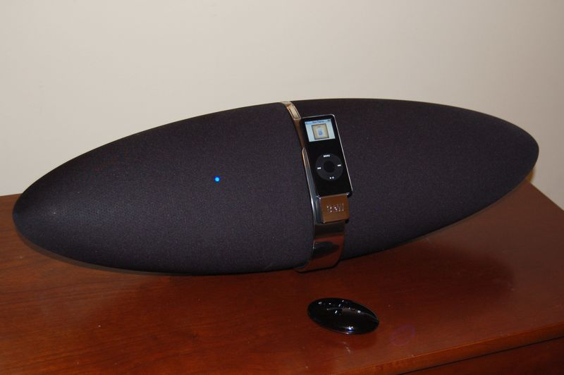 B Amp W Zeppelin Speaker System For Ipod Review Audioholics