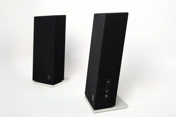 definitive technology speakers. definitive technology incline side view speakers o
