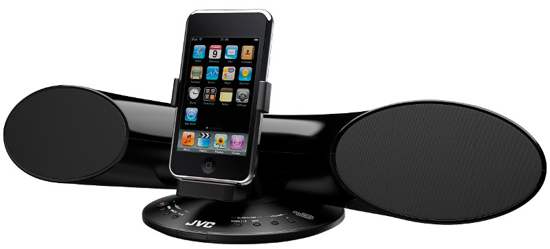 JVC+XS-SR+iPod+Speaker+System+First+Look