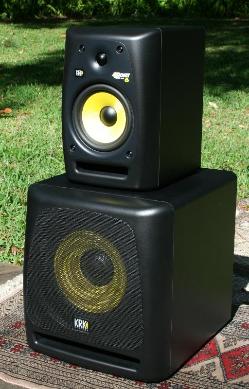 krk rokit powered 6 10s speaker system review audioholics. Black Bedroom Furniture Sets. Home Design Ideas