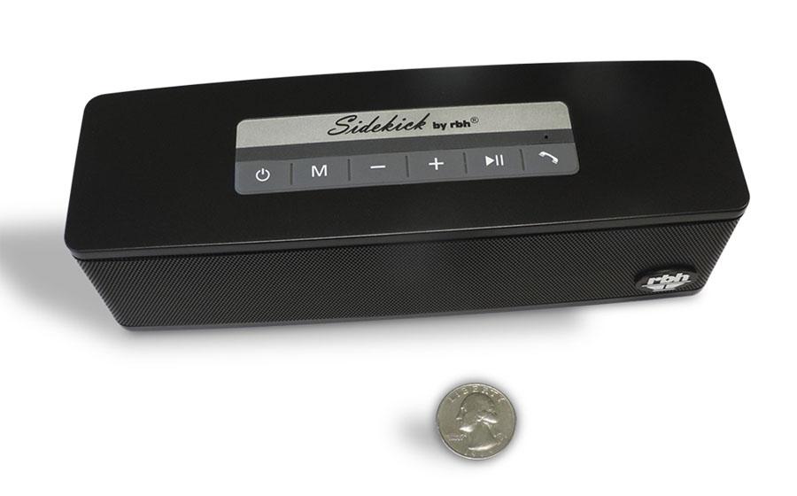 rbh sound sidekick portable bluetooth speaker review audioholics rh audioholics com Old Sidekick Phone Suzuki Sidekick