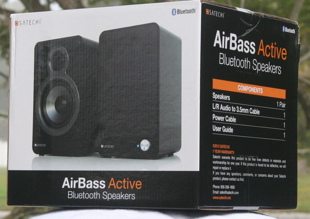 Satechi St Sx200 Airbass Active Bluetooth Speakers Review