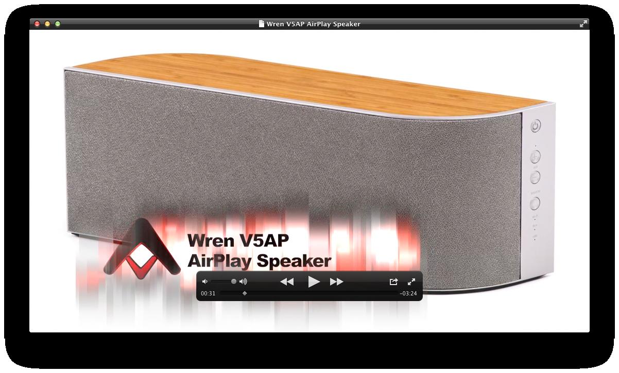 Wren V5AP AirPlay Speaker Review | Audioholics Wren Audio on