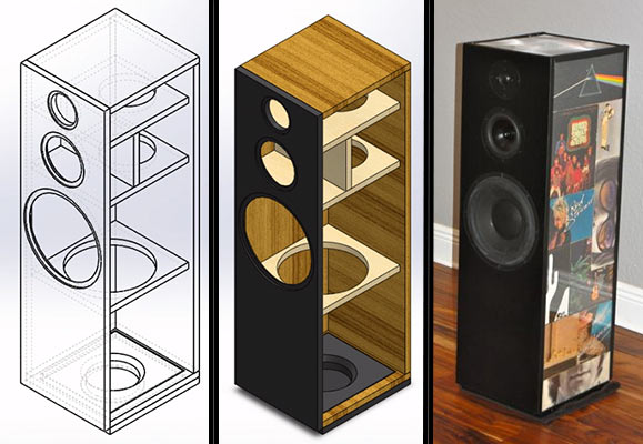 Diy Center Channel Speaker Design