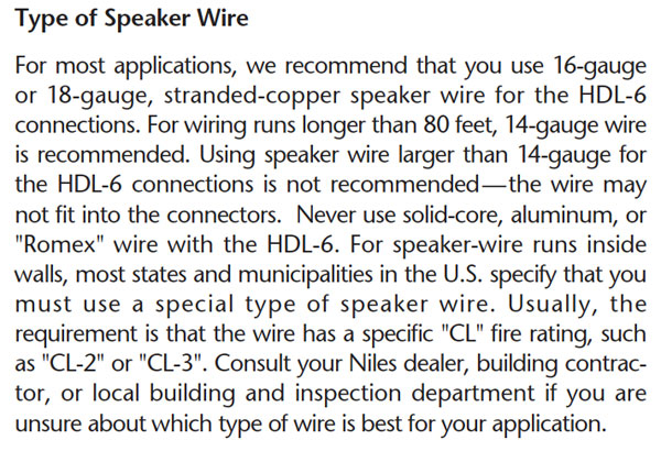 How to use a speaker selector for multi room audio audioholics niles speaker wire awg guidelines greentooth Choice Image