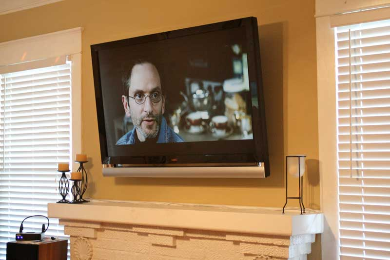 Nothing has come up in local conversations with friends and family as much as what it takes to mount a flat panel television over a fireplace. Be it plasma or LCD