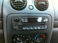 stock Jeep Liberty radio