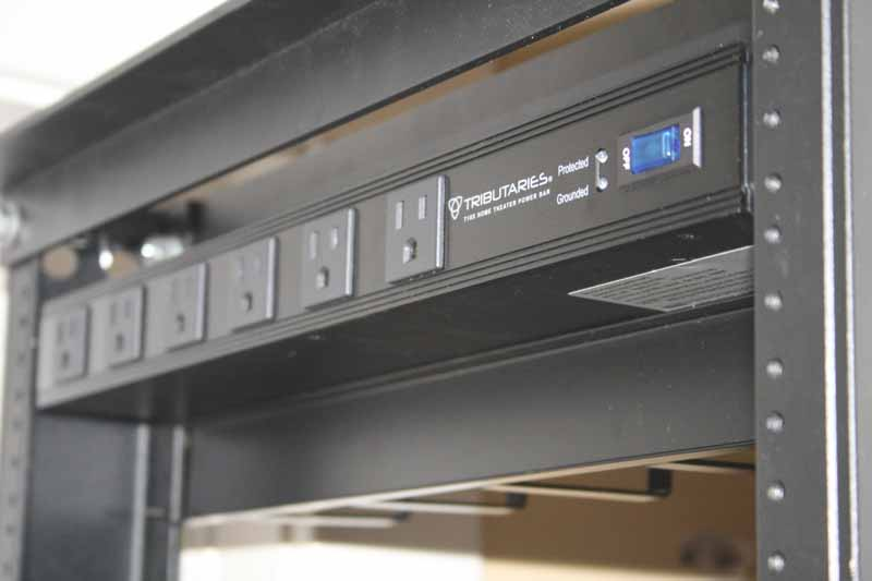 Using a Relay Rack for Accessible AV Equipment