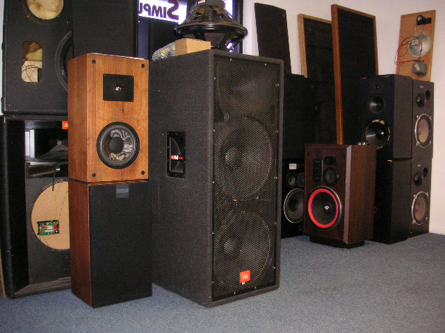 JBL Vintage Speaker Restoration Done Right by Simply