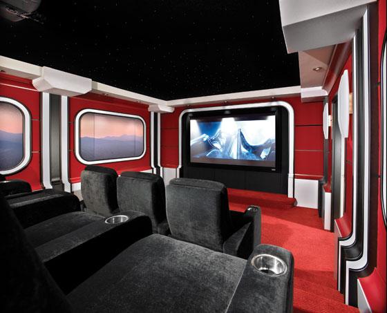 Star wars home theater full screen image audioholics - Sala de cine en casa ...