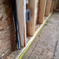 Measure wires in wall