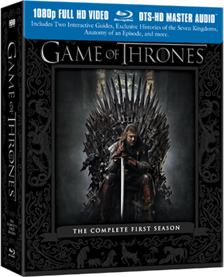 Game Of Thrones The Complete First Season Blu Ray Review