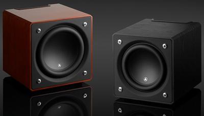 JL Audio e110 and e112 subwoofers