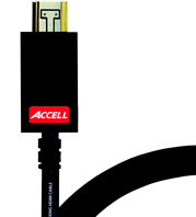 Accell AVGrip Pro Locking HDMI Cable