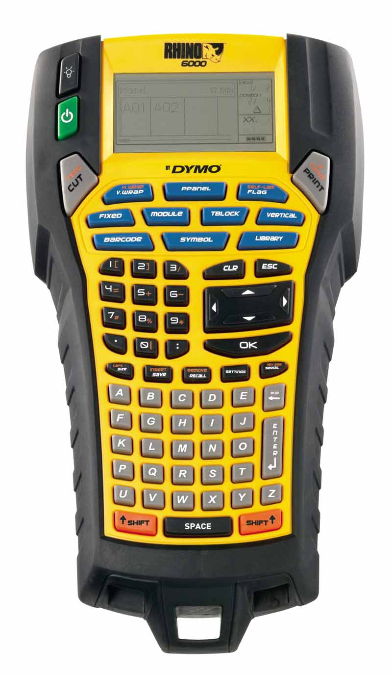 Dymo Rhino 6000 Backgrounder Label Maker First Look