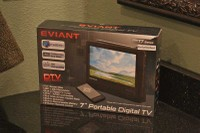 "Eviant T7 Portable 7"" LCD TV"