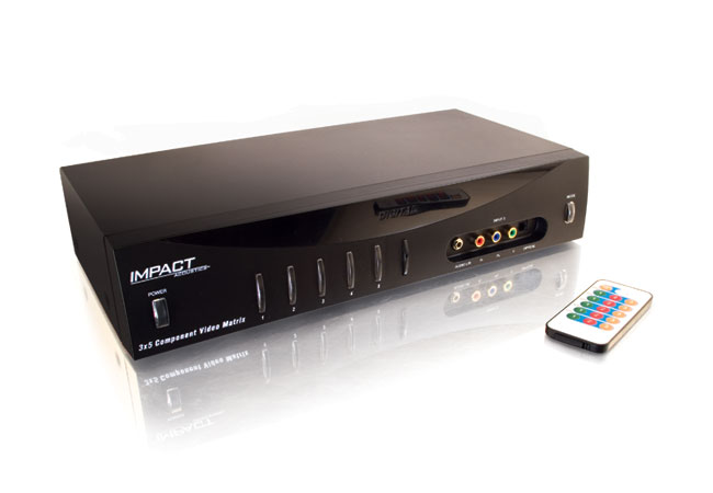 Impact+Acoustics+3x5+Component+Video+Matrix+Selector+Switch+Review