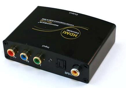 Monoprice Component Amp S Pdif Digital Coax Optical Toslink