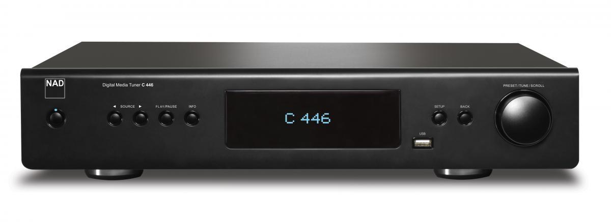 nad c 446 digital media player preview audioholics. Black Bedroom Furniture Sets. Home Design Ideas