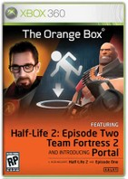 Half Life Orange Box for Xbox 360