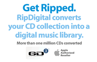 RipDigital Audio CD Ripping Service