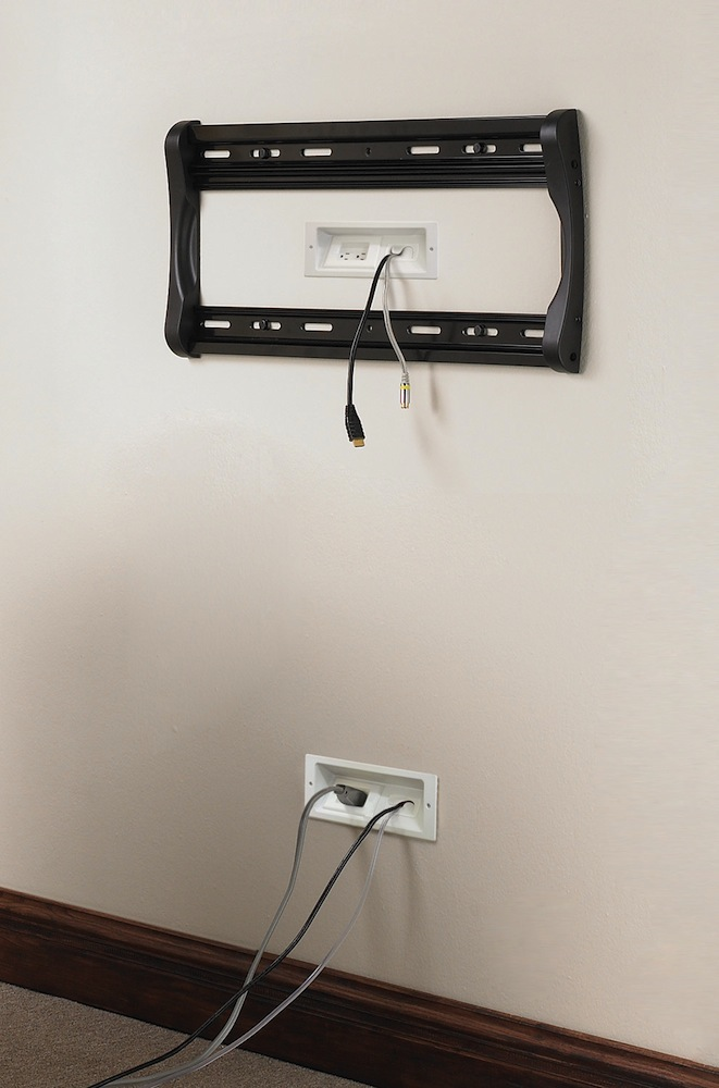 S Elm806 In Wall Cable Management System