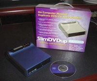 SlimDVDup Portable DVD/CD Duplicator