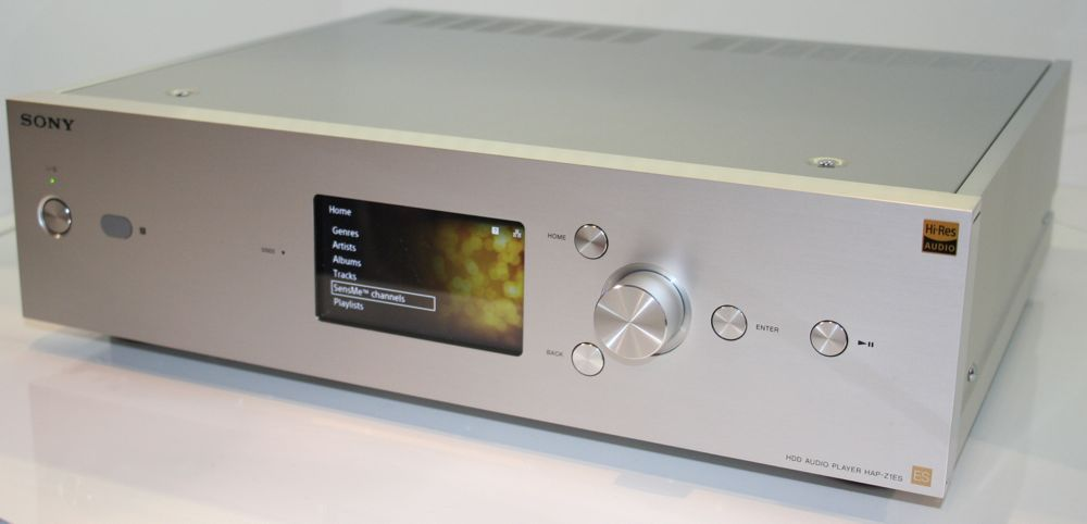 Sony Hap Z1es 1tb Hi Res Music Player System Preview