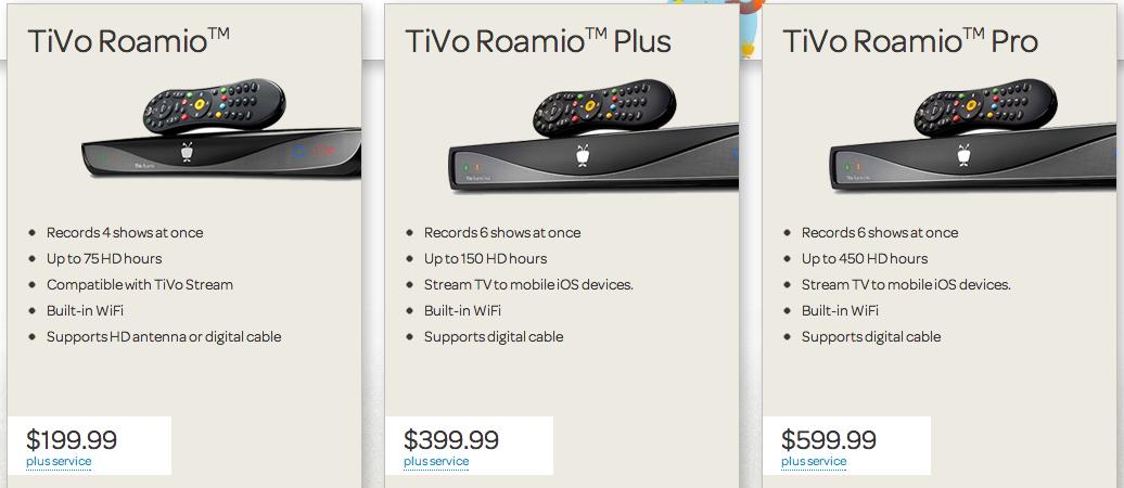 TiVo roamio Hook up