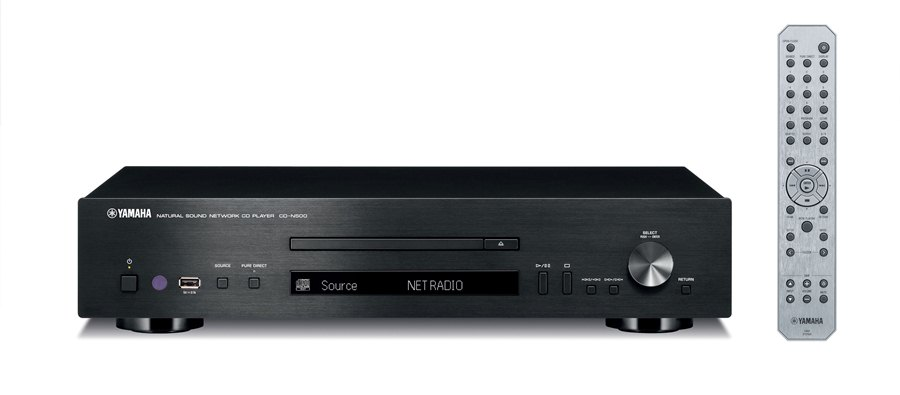 yamaha cd n500 network cd player preview audioholics